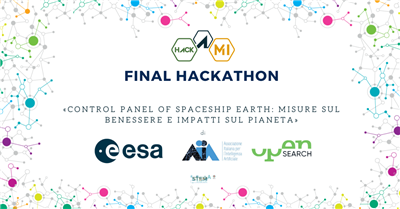 Open Search Network, AIxIA ed ESA annunciano la finale di Hack@MI