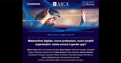Metamorfosi digitale, professioni del futuro e gender gap