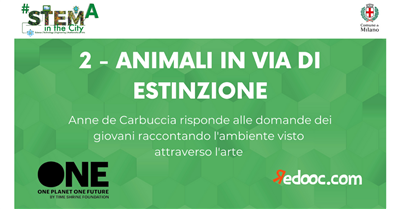 One Planet One Future - Animali in via d'estinzione