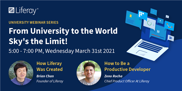 Liferay Universities Series – From university to the world, sky's the limit