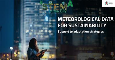 METEOROLOGICAL DATA FOR SUSTAINABILITY: support to adaptation strategies